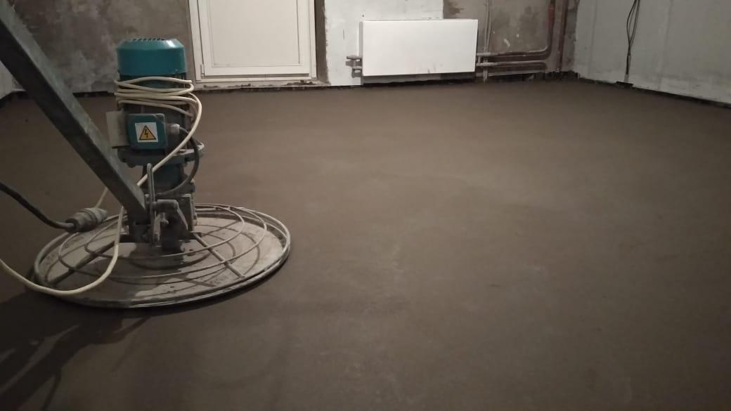 Стяжка в квартире