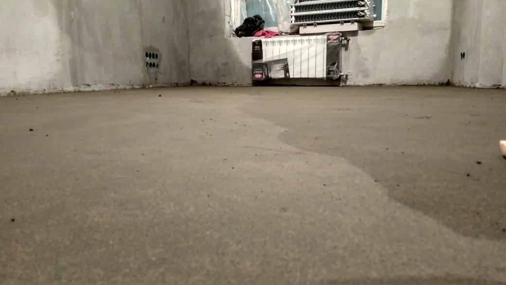 Стяжка в панельном доме