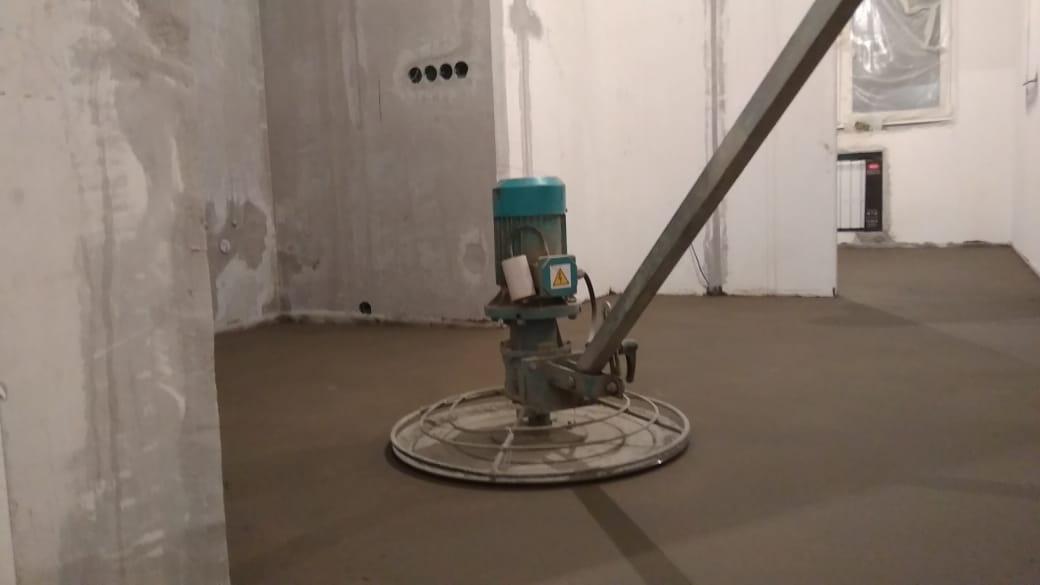 Стяжка пола цена за метр