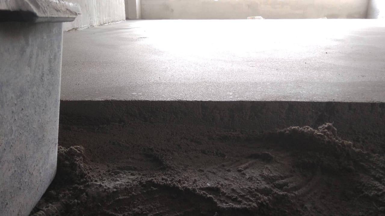 Укладка бетонных полов