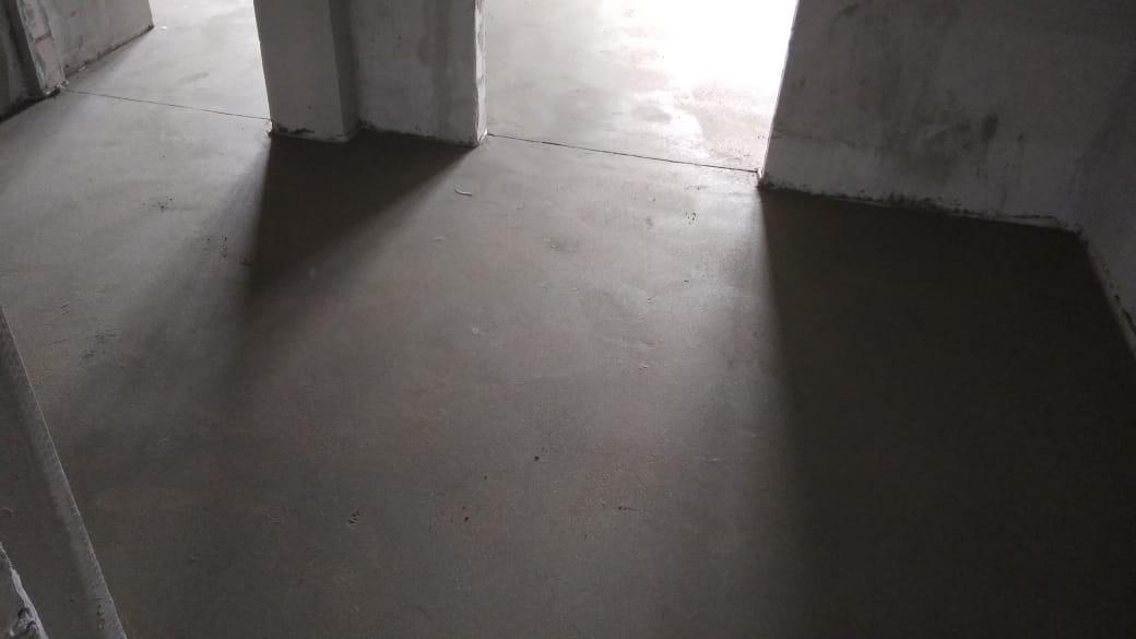 Заливка пола цементом