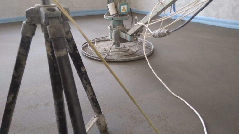 Заливка пола из керамзитобетоном зима бетон