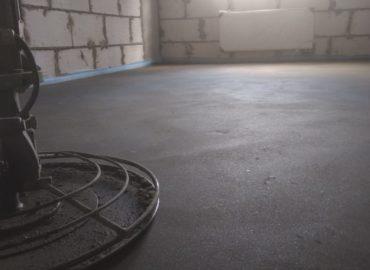 Стоимость заливки пола бетоном